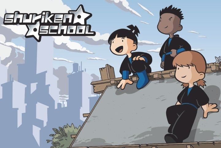 Creation of entertainment brands audiovisual zinkia - Shuriken school ...