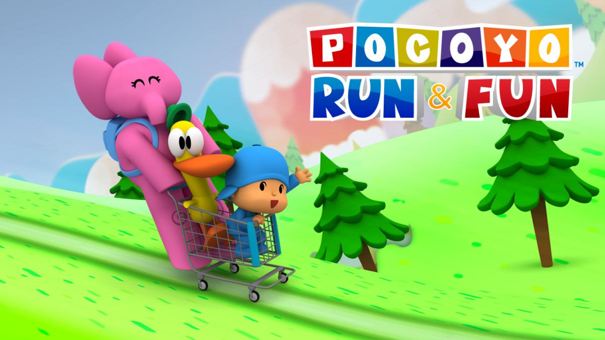 La app Pocoyo Run&Fun destacada a nivel mundial