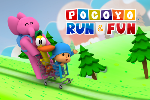 Pocoyo Run&Fun app has been highlighted wordlwide