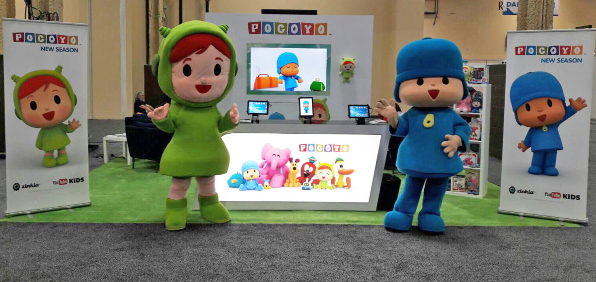 POCOYO and NINA arrived in Las Vegas