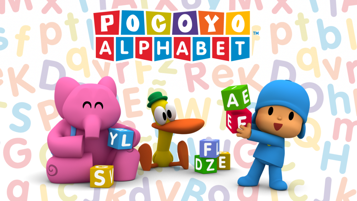 The app POCOYO ALPHABET exceeds 2 million downloads