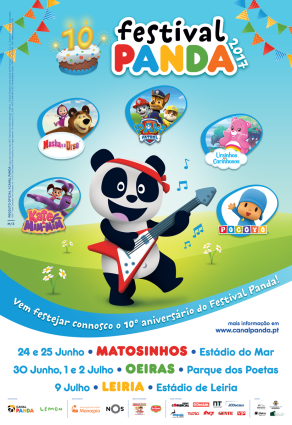 Pocoyo is on tour in Portugal!