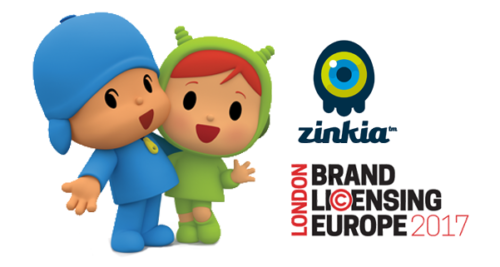 Zinkia Entertainment will attend the Brand Licensing Europe 2017