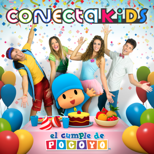 Conecta Kids announce for November 3rd the launch of its new album 'El Cumple de Pocoyo'