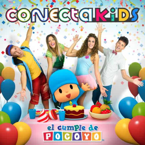 Conecta Kids anuncian para el 3 de noviembre el lanzamiento de su nuevo álbum 'El Cumple de Pocoyo'
