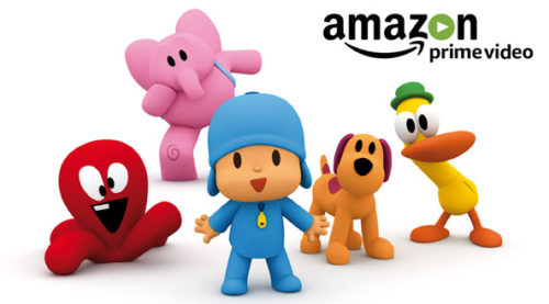 Pocoyo arrives at Amazon Prime Video