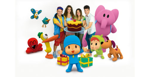 Pocoyo and Conecta Kids inaugurate Christmas in Zaragoza