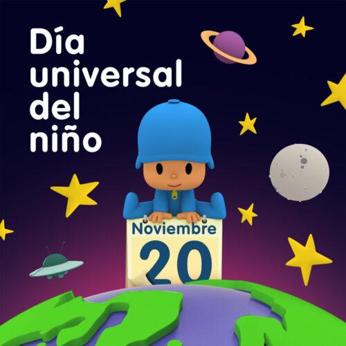 Pocoyó hace visibles realidades diferentes en el Día Universal del Niño