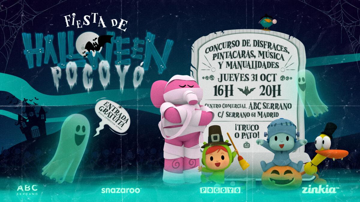 Pocoyó celebra su fiesta de Halloween