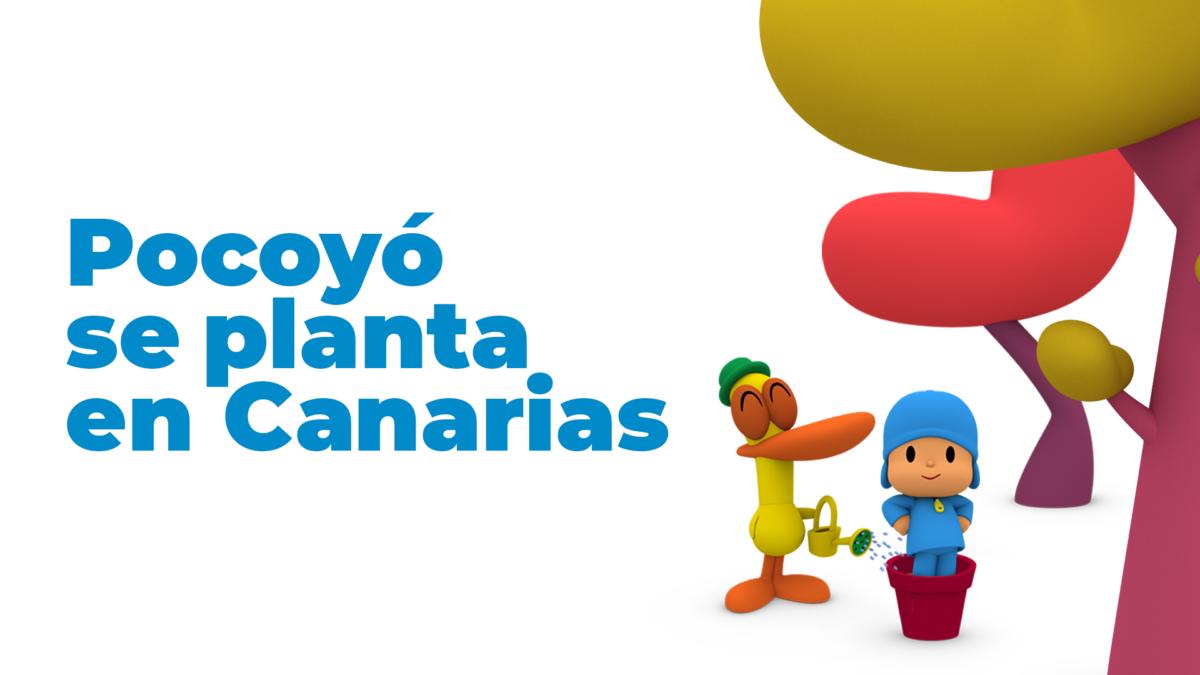 Los nuevos capítulos de Pocoyó se producen en las Islas Canarias