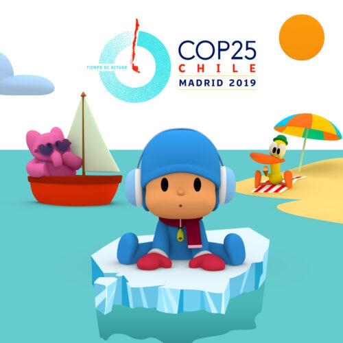 Pocoyó y WWF España invitan a los niños a luchar contra el cambio climático