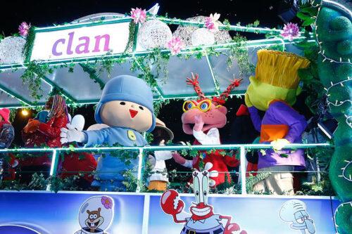 Pocoyó participa en la Cabalgata de Reyes de Madrid 2020
