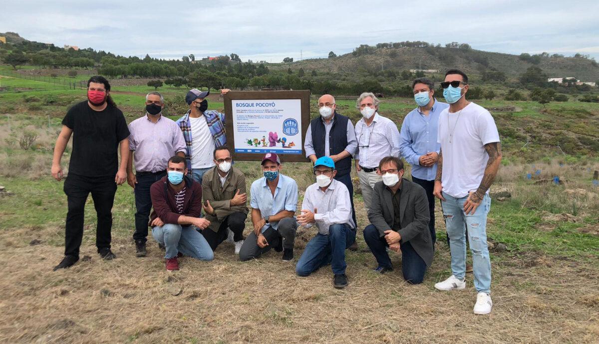 """Arranca la plantación de """"Bosque Pocoyó"""" con los primeros 1.000 árboles"""