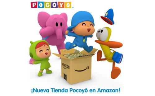 Pocoyó estrena su Tienda Oficial en Amazon