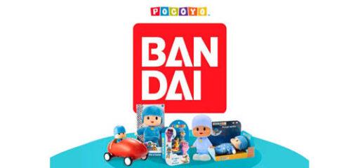 Bandai lanza esta primavera nuevos juguetes de Pocoyó