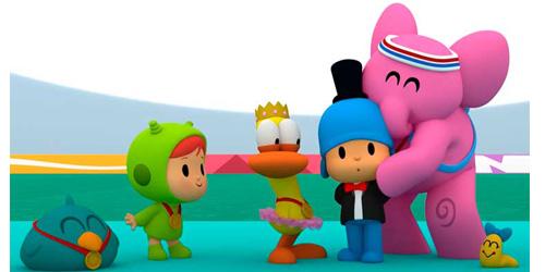 Pocoyó y sus amigos se unen al espíritu olímpico